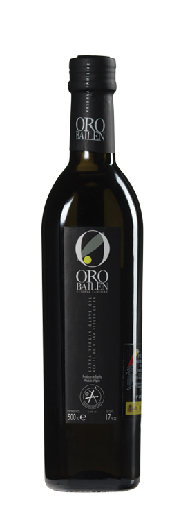 Aceite de Oliva Virgen Extra Oro Bailén Reserva Familiar 750 ml. Botella