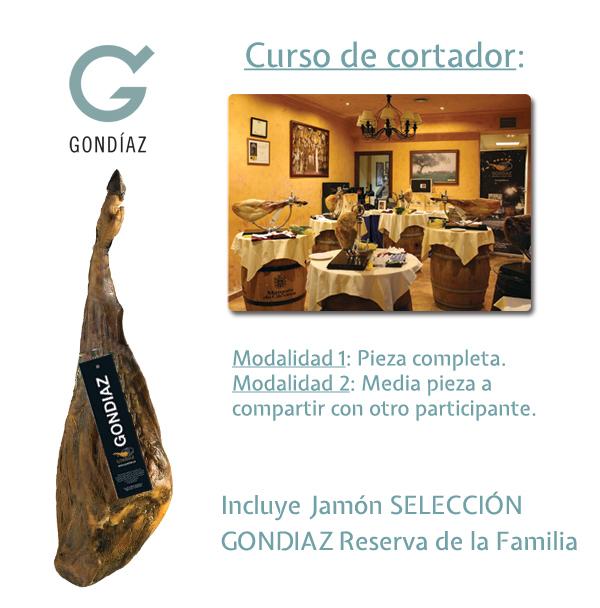 Curso de Cortadores Jamón Selección Gondíaz Piezas Selectas