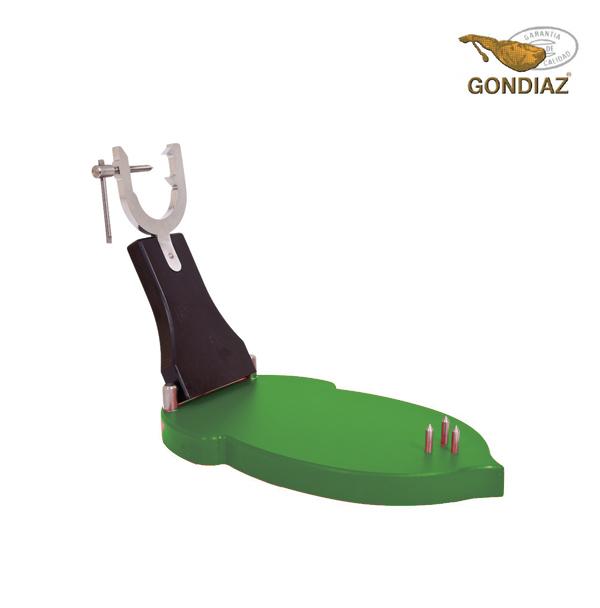 Portajamón U Bellota Plegable Sagra en Polietileno Verde